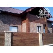 Деревянная фасадная доска из Акации (ромбус)