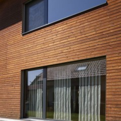 The wooden facade boards of Thermocouples
