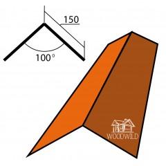Конек треугольный прямой