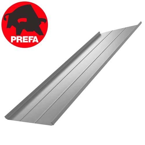 Aluminum folded roof PREFA