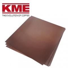 Оксидированная кровельная листовая медь  KME