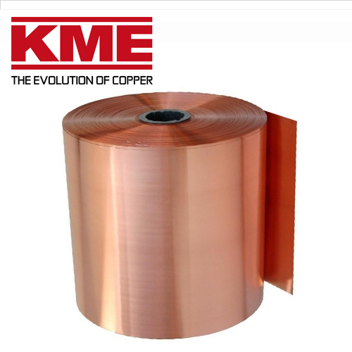 Oxidized copper roof roll KME