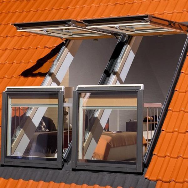 Мансардные окна с балконом фото.