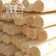 Turned fir lumber
