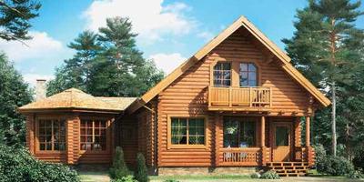 Строительство деревянных домов под ключ Украина